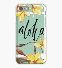 Aloha iPhone Case/Skin