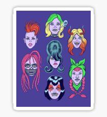 Goth Girls  Sticker
