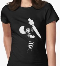 Don't play with Knives Women's Fitted T-Shirt