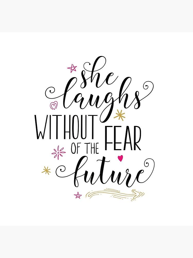 Sie lacht ohne Angst vor der Zukunft von Trusting4Peace