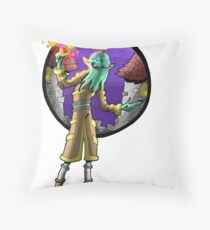 ilithid mage Throw Pillow