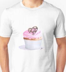 Vanilla Cupcake Unisex T-Shirt