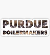 Purdue Boilermakers - Mackey Sticker