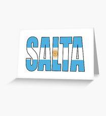 Salta Greeting Card