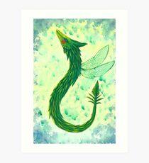 Dragon(fly) Art Print