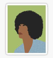 Angela- Feminist Icons and Inspiring Women Sticker