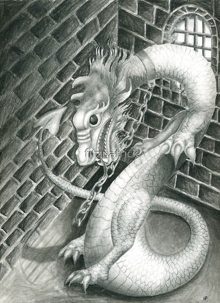 dragon in my basment by fitzpatrick