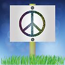 peace sign by valeo5