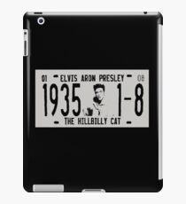 Elvis Presley - licence plate iPad Case/Skin