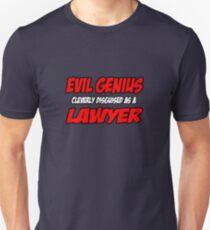 Evil Genius ... Lawyer Unisex T-Shirt