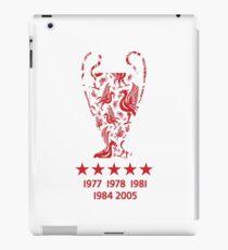 Liverpool FC - Champions League Winners iPad Case/Skin