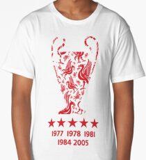 Liverpool FC - Champions League Winners Long T-Shirt