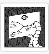 Life in the Underground Sticker