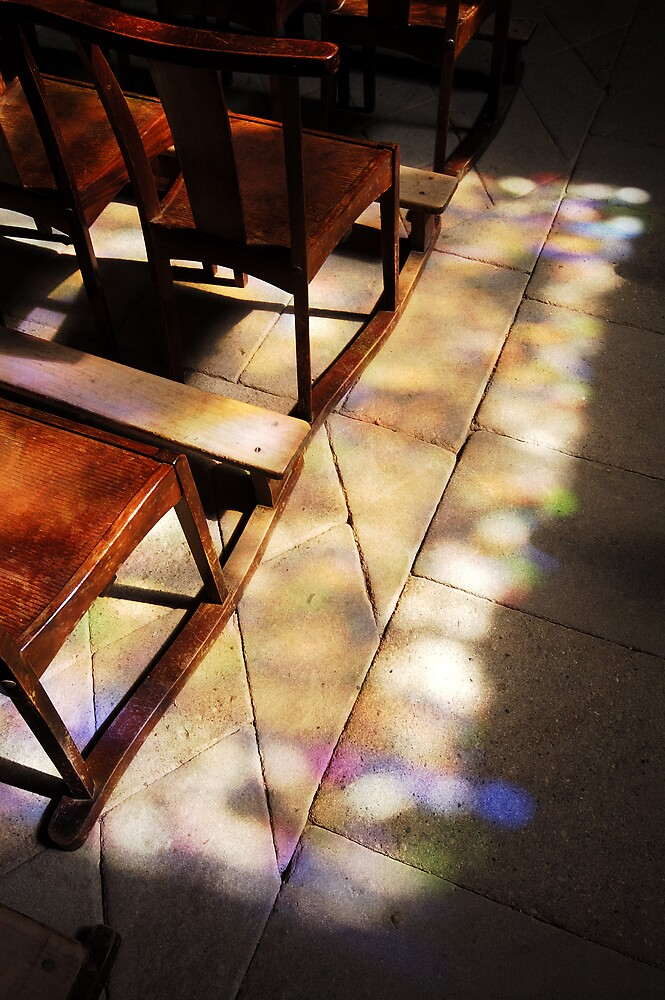 there came a spectacular light through the west church window 2 by ragman