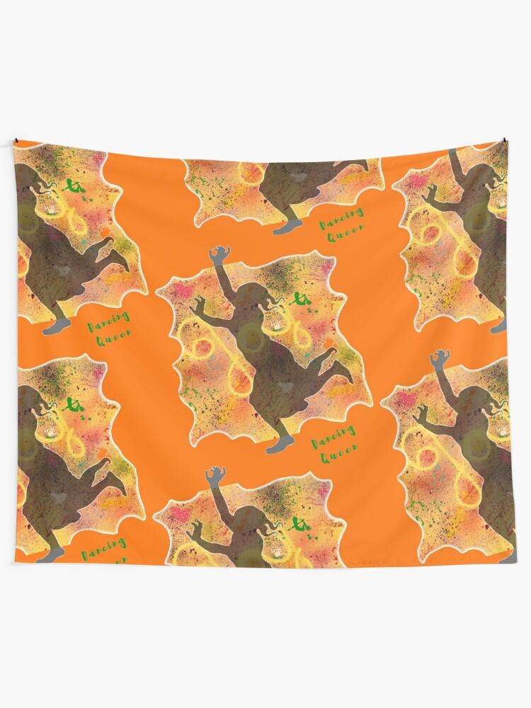 Alternate view of DANCING QUEEN OF JOY  Tapestry