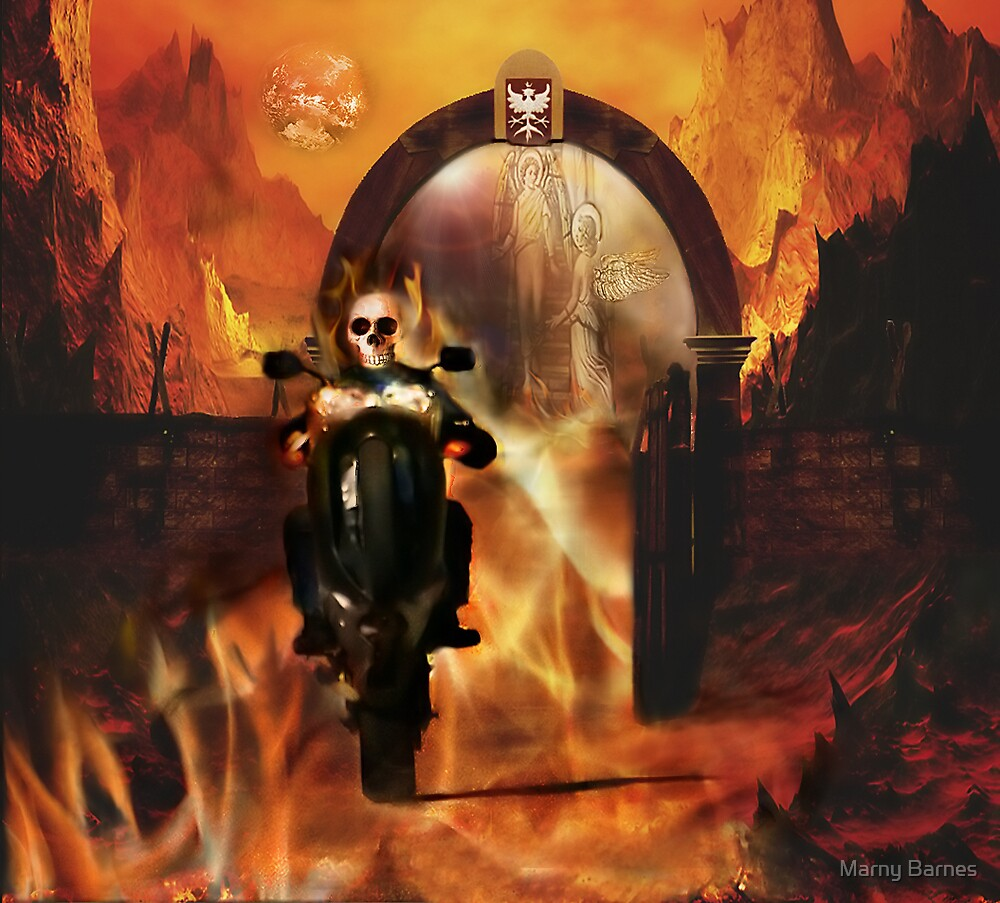 Blessed Hell Ride by Marny Barnes