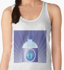 plastic bottle with water Women's Tank Top