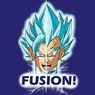 Fusion! Vegito Blue! by Benjamin Nunn