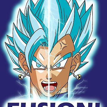Fusion! Vegito Blue! by Cosmodious