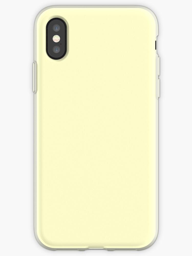 «Color en colores pastel - amarillo muy pálido» de stylebytara