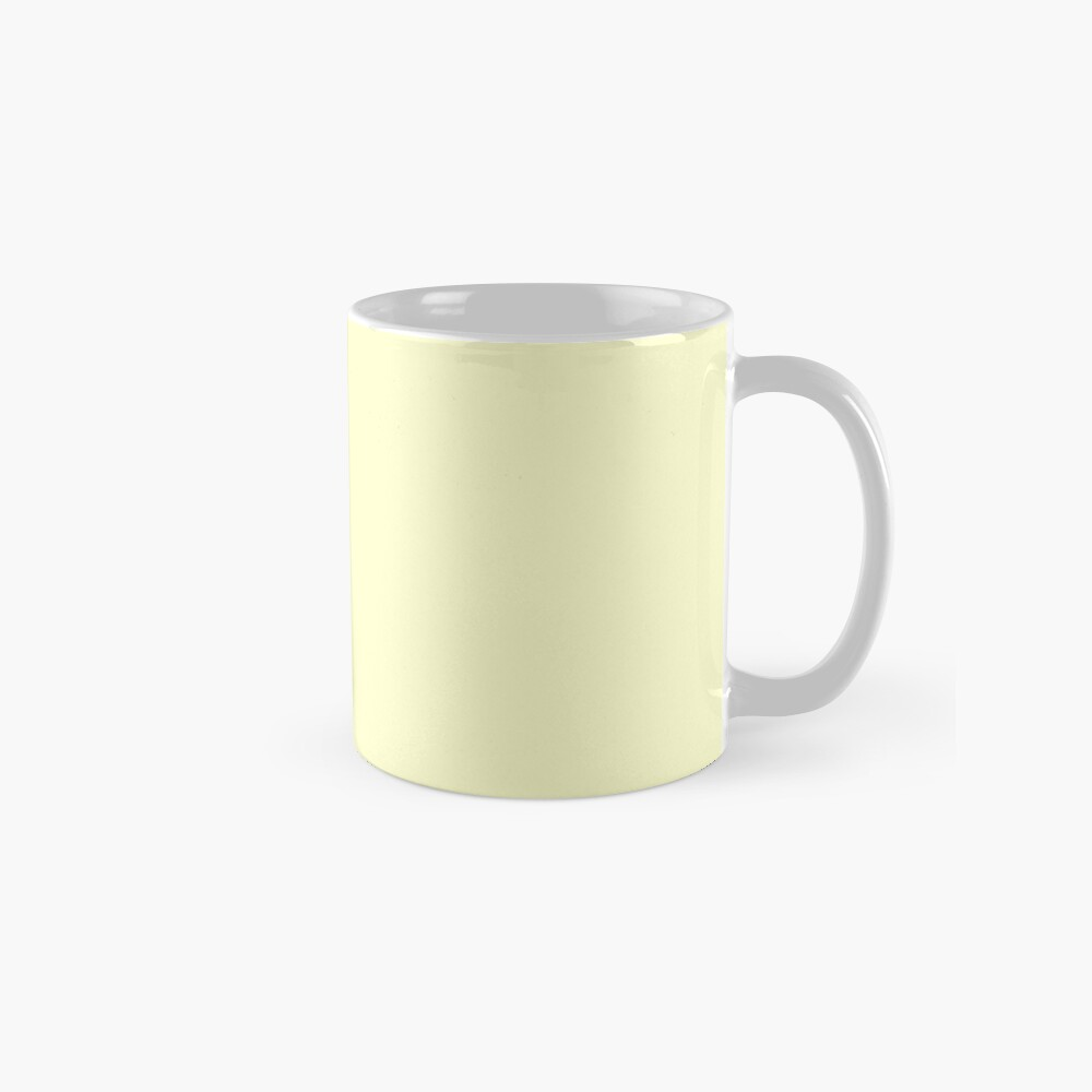 Pastel Color - Very Pale Yellow Mug