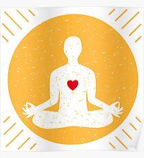 Harmony with yoga Poster