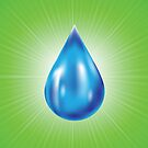 water drop icon by valeo5
