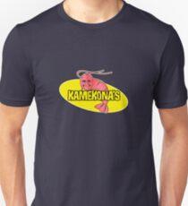 Kamekona's Shrimp Logo (Outline) Unisex T-Shirt