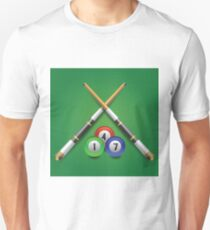 billiard icon Unisex T-Shirt