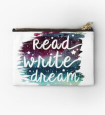 Read Write Dream Studio Pouch