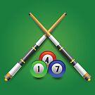 billiard icon by valeo5