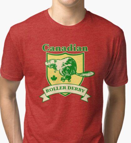 Canadian Roller Derby Tri-blend T-Shirt