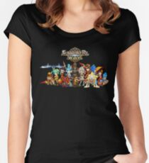 Monster Group Photo Women's Fitted Scoop T-Shirt