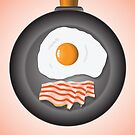 eggs and bacon by valeo5