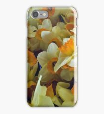 Daffodils at Pikes Place Market iPhone Case/Skin