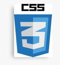 CSS Canvas Print