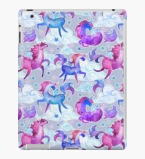 unicorns and clouds iPad Case/Skin