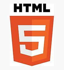 HTML Photographic Print