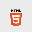 «HTML5 lenguaje de programación logo» de UnitShifter