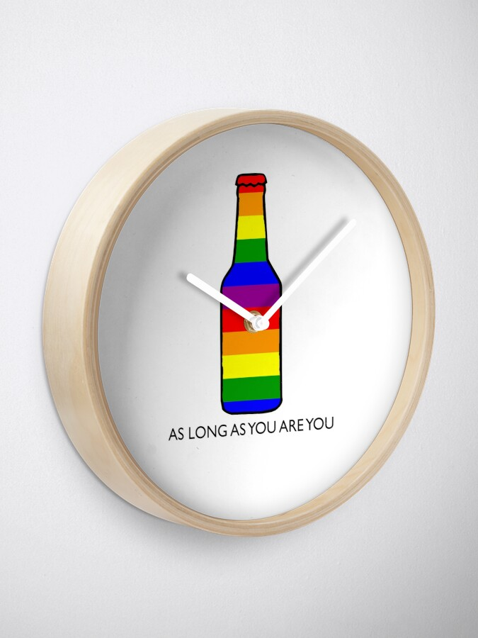 Orgullo Cerveza Botella De IrisReloj Del Gay Arco 54ARjL