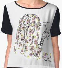 Our Brains Are Sick Chiffon Top