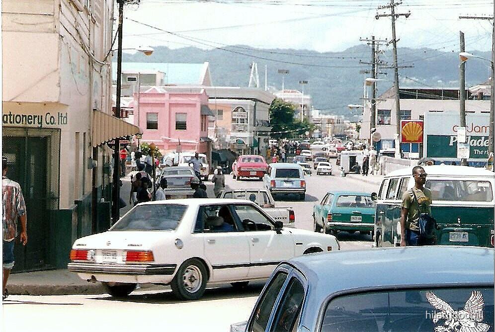 Downtown Montego Bay by hilarydougill