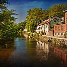 Canal along the Porkyard by Debra Fedchin