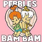 Pebbles und Bamm-Bamm Show - Feuersteine von RainbowRetro