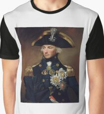 Royal Navy - Admiral Horatio Nelson Graphic T-Shirt