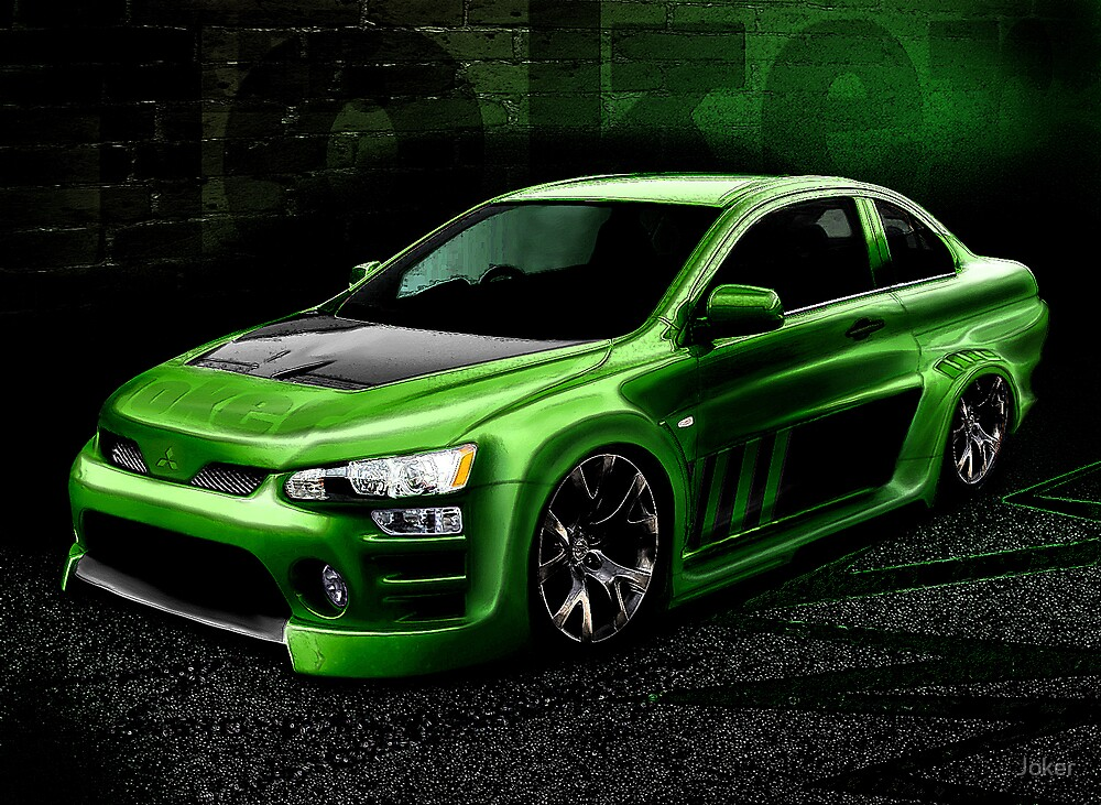 LANCER evo concept by Joker