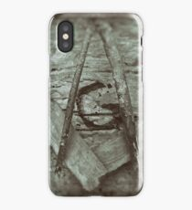 Rustic Square and Compasses 2 iPhone Case/Skin