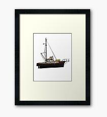 JAWS ORCA Framed Print