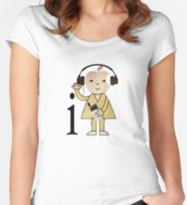 i Bod (ipod) Women's Fitted Scoop T-Shirt