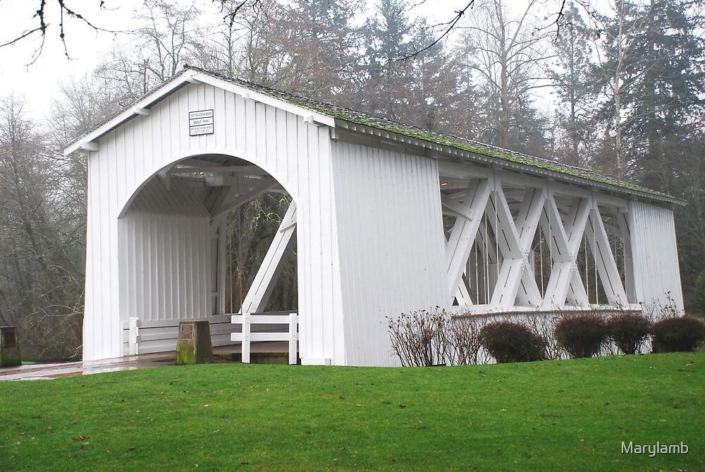Jordan Bridge, Stayton Oregon by Marylamb